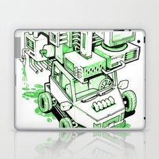 Green Machine Car Laptop & iPad Skin