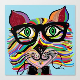 VERY Cool Cat Canvas Print