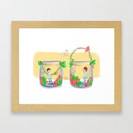 Iwaoi volleybottles / IWAIZUMI Framed Art Print