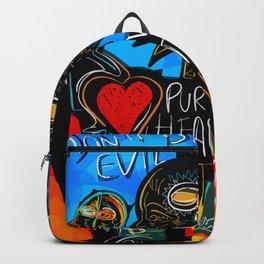 Don't be Evil Street Art Graffiti Backpack