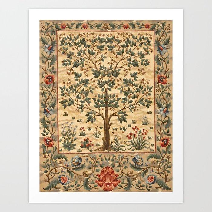 """William Morris """"Tree of life"""" 3. Kunstdrucke"""
