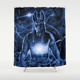 LORD ANUBIS Shower Curtain