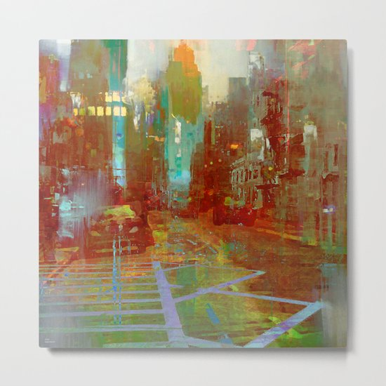 All the streets have your name Metal Print