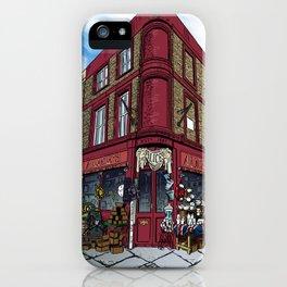British Shop iPhone Case