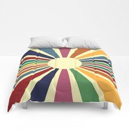 Sun Retro Art II Comforters