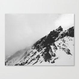 FOG MOUNTAIN Canvas Print