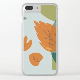The Leaves Clear iPhone Case