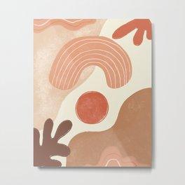 Abstract Illustration1 Metal Print