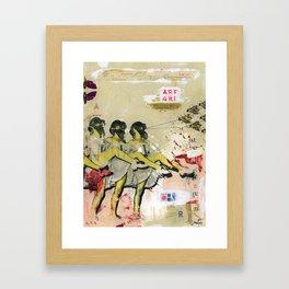 Killer bees Framed Art Print