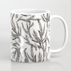 Black Coral Ferns Coffee Mug