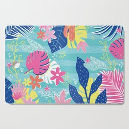 Tropical Vibes Cutting Board