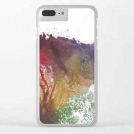 Devon's Vulva Print No.3 Clear iPhone Case