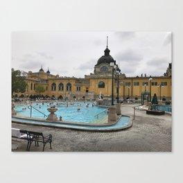 Baths of Budapest Canvas Print