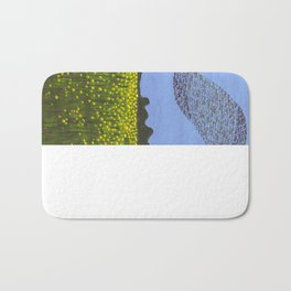 The Meadow and the Swarm Bath Mat