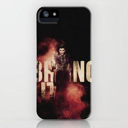 Th Evil Queen: Bring It iPhone Case