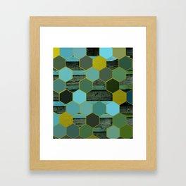 Seaside Honey Framed Art Print