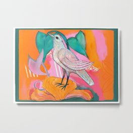 Song of the Dove Metal Print