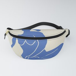Sitting nude cut out Fanny Pack