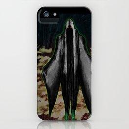 """BOO! the ghoul"" Darrell Merrill iPhone Case"
