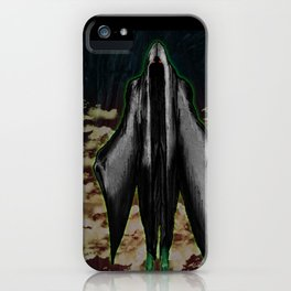 """BOO! the ghoul"" Darrell Merrill iPhone Case"