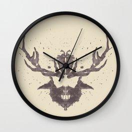 Hannibal Rorschach Test Wall Clock