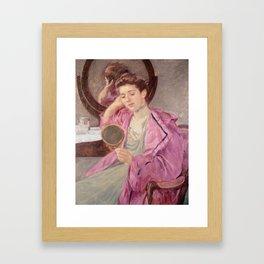 Mirror art - Mary Cassatt Framed Art Print