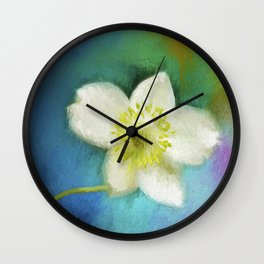 Color My World 01 Wall Clock