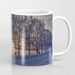 Sunset in Rovaniemi. Coffee Mug
