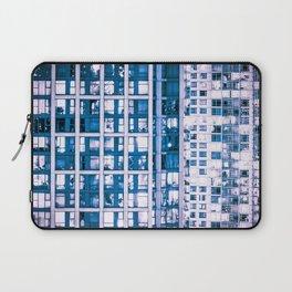 Urban Sprawl Vancouver Grid Laptop Sleeve