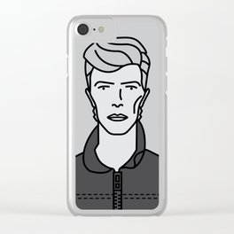 David Bowie - Heroes Clear iPhone Case