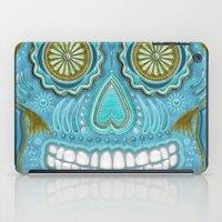 sugar skull iPad Cases featuring sugar skull by Ancello