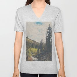 into the wild ...  Unisex V-Neck