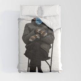 Bernie Sanders Sitting Meme  Comforters