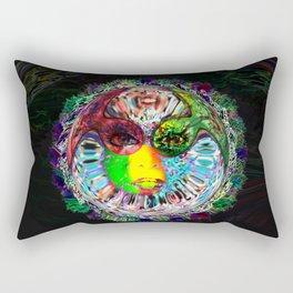 Life on another planet Rectangular Pillow