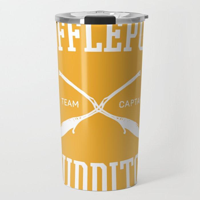 Hogwarts Quidditch Team: Hufflepuff Travel Mug