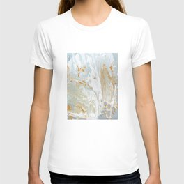 Gold and shine T-shirt