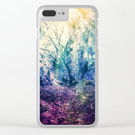 Light At The End of the Tunnel : Deep Pastels Clear iPhone Case