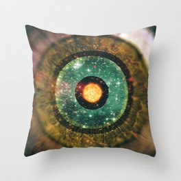 Eye of the Abyss Throw Pillow
