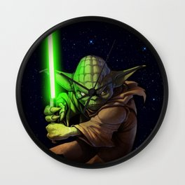 Master Yoda Wall Clock