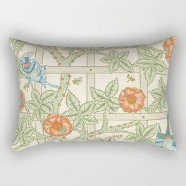 Save Trellis by William Morris (1834-1896). Rectangular Pillow
