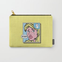 Notice Me, Cat Senpai by Tobe Fonseca Carry-All Pouch
