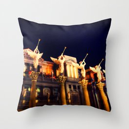Angels Las Vegas Throw Pillow