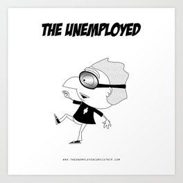 The Unemployed - Polino Art Print