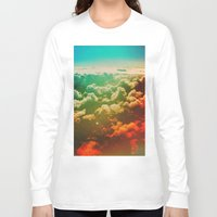 pilot Long Sleeve T-shirts featuring Pilot Jones by Daniel Montero