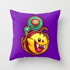 Boo Bee Throw Pillow