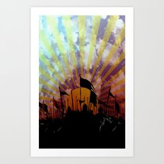 Seventh Son of the Seventh Son Art Print