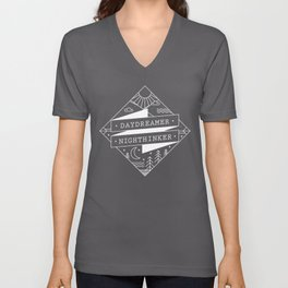 daydreamer nighthinker Unisex V-Neck