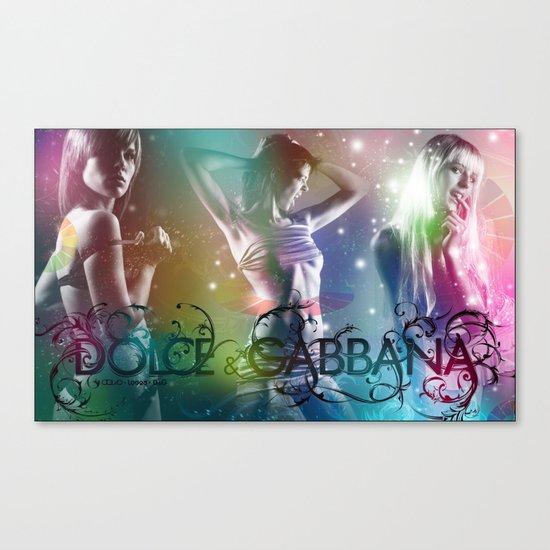Dolce and Gabana Canvas Print