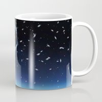 jack frost Mugs featuring Jack Frost by Arya
