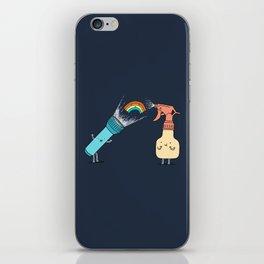 Together we make rainbow iPhone Skin